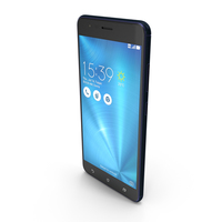Asus ZenFone 3 Zoom Navy Black PNG & PSD Images