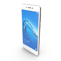 Huawei Honor 6C Gold PNG & PSD Images