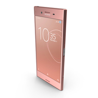 Sony Xperia XZ Premium Bronze Pink PNG & PSD Images