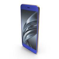 Xiaomi Mi 6 Blue PNG & PSD Images