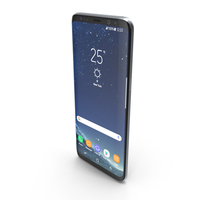 Samsung Galaxy S8 Plus Arctic Silver PNG & PSD Images