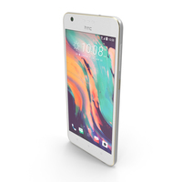 HTC Desire 10 Lifestyle Polar White PNG & PSD Images