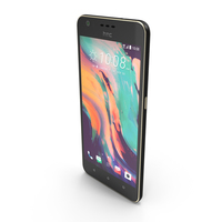 HTC Desire 10 Lifestyle Stone Black PNG & PSD Images