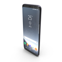 Samsung Galaxy S8 Orchid Gray PNG & PSD Images