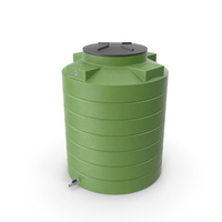 Big Plastic Water Storage Tank PNG & PSD Images