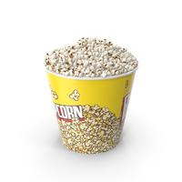 Big Popcorn Bucket PNG & PSD Images