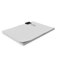 Binder Clip Sheets PNG & PSD Images