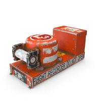 Black Box Flight Recorder Crashed PNG & PSD Images