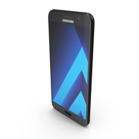 Samsung Galaxy A7 2017 Black Sky PNG & PSD Images