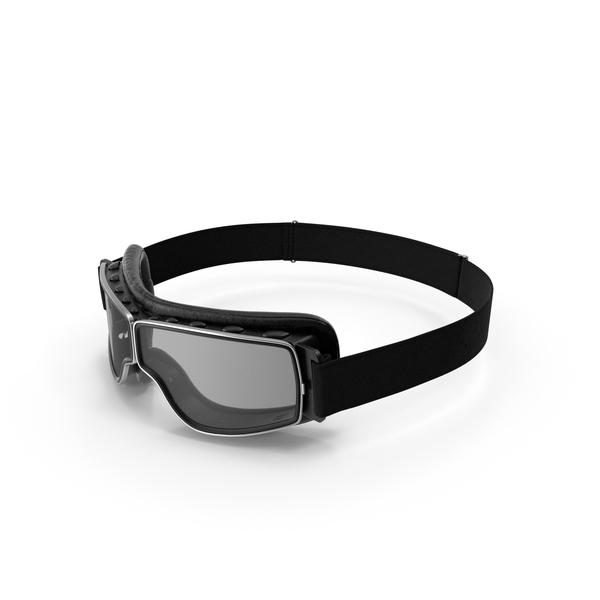 Black Pilot Goggles PNG & PSD Images