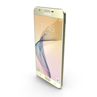 Samsung Galaxy J7 Prime Gold PNG & PSD Images