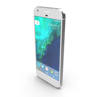 Google Pixel Very Silver PNG & PSD Images