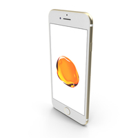 Apple iPhone 7 Gold PNG & PSD Images