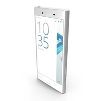 Sony Xperia X Compact White PNG & PSD Images