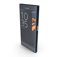 Sony Xperia X Compact Universe Black PNG & PSD Images