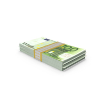 100 Euro packs PNG & PSD Images