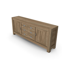 Stylish Commode 223cm PNG & PSD Images