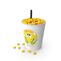 Cup of Corn PNG & PSD Images