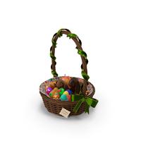 Easter Basket PNG & PSD Images