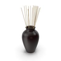 Decorative Pottery Black PNG & PSD Images