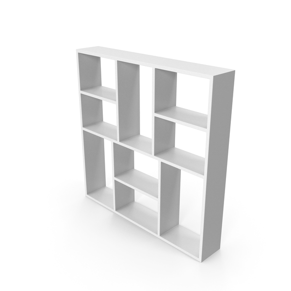 Book Case White PNG & PSD Images