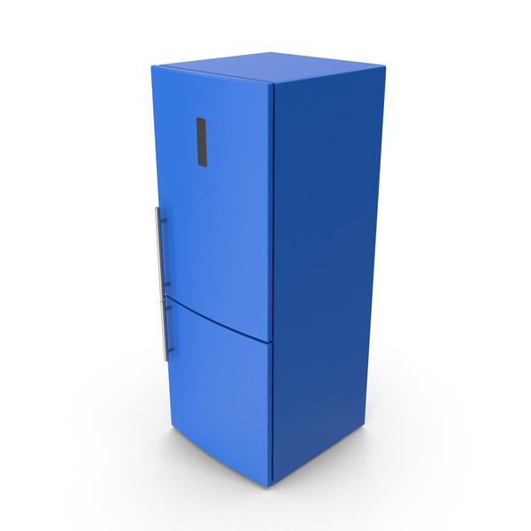 Refrigerator Blue PNG & PSD Images