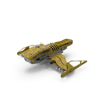 Sci-Fi Drone Plane Clean PNG & PSD Images