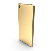 Sony Xperia X Performance Lime Gold PNG & PSD Images