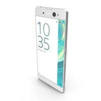 Sony Xperia XA Ultra White PNG & PSD Images