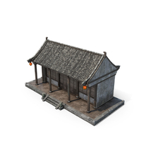 Chinese Small House PNG & PSD Images