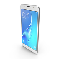 Samsung Galaxy J7 2016 White PNG & PSD Images