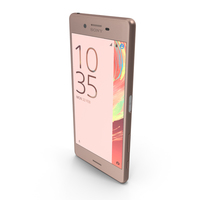 Sony Xperia X Rose Gold PNG & PSD Images