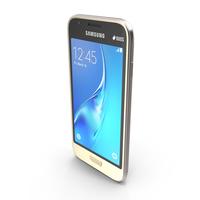 Samsung Galaxy J1 Mini Gold PNG & PSD Images