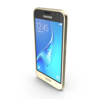Samsung Galaxy J1 2016 Gold PNG & PSD Images
