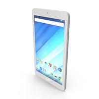 Acer Iconia One 8 B1-850 White PNG & PSD Images
