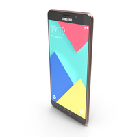 Samsung Galaxy A9 Pink PNG & PSD Images