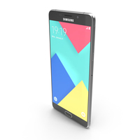 Samsung Galaxy A9 Black PNG & PSD Images
