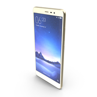 Xiaomi Redmi Note 3 Champagne Gold PNG & PSD Images
