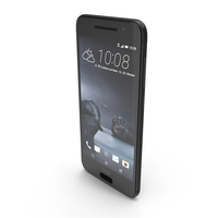 HTC One A9 Carbon Gray PNG & PSD Images