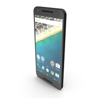 LG Nexus 5X Black PNG & PSD Images