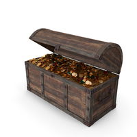 Old Chest of Treasures PNG & PSD Images