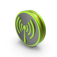 Green Wireless Icon PNG & PSD Images