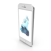 Apple iPhone 6s Silver PNG & PSD Images