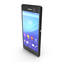 Sony Xperia M5 Black PNG & PSD Images
