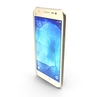 Samsung Galaxy J5 Gold PNG & PSD Images