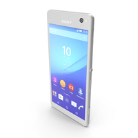 Sony Xperia C4 White PNG & PSD Images