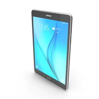 Samsung Galaxy Tab A 9.7 Smoky Titanium PNG & PSD Images
