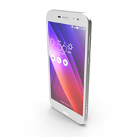 Asus Zenfone Zoom White PNG & PSD Images