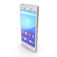Sony Xperia M4 Aqua White PNG & PSD Images