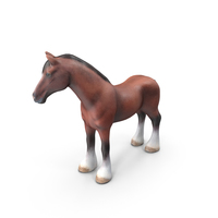 Stylized Horse PNG & PSD Images